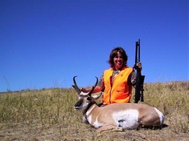 Milliron TJ Outfitting Pronghorn hunting